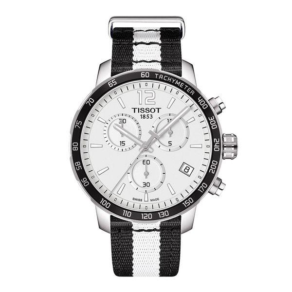 お取り寄せ NBA ネッツ 腕時計 クイックスター クオーツ クロノグラフ ティソ/Tissot ブラック
