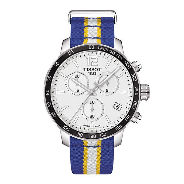 お取り寄せ NBA ウォリアーズ 腕時計 クイックスター クオーツ クロノグラフ ティソ/Tissot ロイヤル