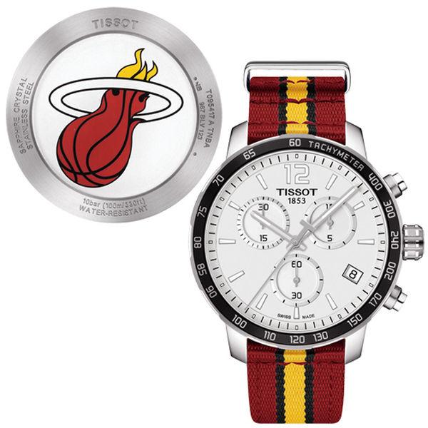正規激安 お取り寄せ 腕時計 NBA ヒート 腕時計 クイックスター クオーツ クロノグラフ ティソ/Tissot クイックスター クロノグラフ レッド, ETERNAL TOKYO:d9c73c30 --- canoncity.azurewebsites.net