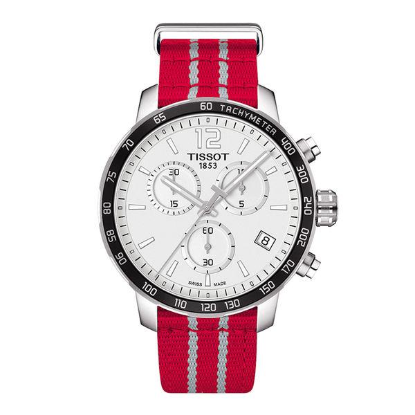 お取り寄せ NBA ロケッツ 腕時計 クイックスター クオーツ クロノグラフ ティソ/Tissot レッド