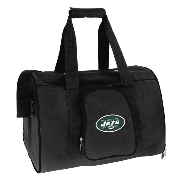 NFL ジェッツ ペット キャリーバッグ ブラック