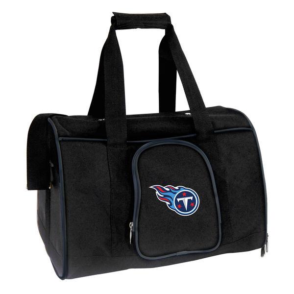 お取り寄せ NFL タイタンズ ペット キャリーバッグ ブラック