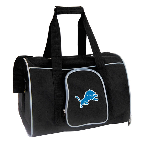 お取り寄せ NFL ライオンズ ペット キャリーバッグ ブラック