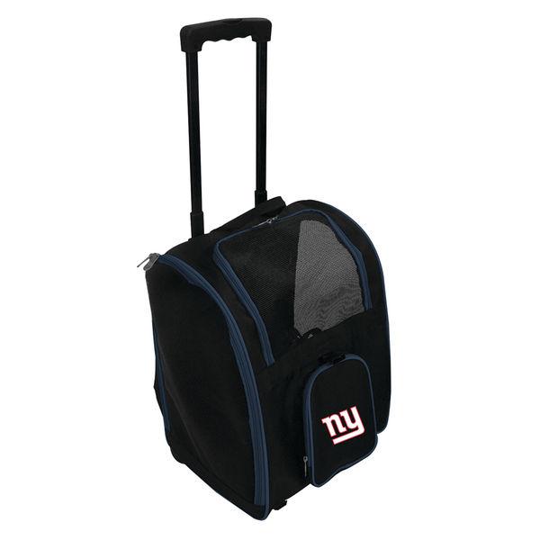 お取り寄せ NFL ジャイアンツ ローラー ペット キャリーバッグ/キャリーケース
