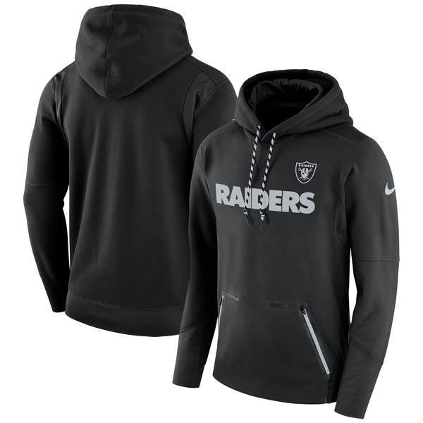 NFL レイダース サイドライン プレイヤー パフォーマンス パーカー ナイキ/Nike ブラック
