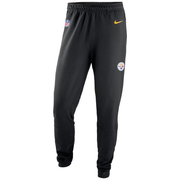 NFL スティーラーズ サイドライン プレイヤー サーマ パンツ ナイキ/Nike ブラック