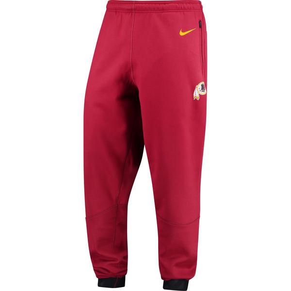 NFL レッドスキンズ サイドライン プレイヤー サーマ パンツ ナイキ/Nike バーガンディ