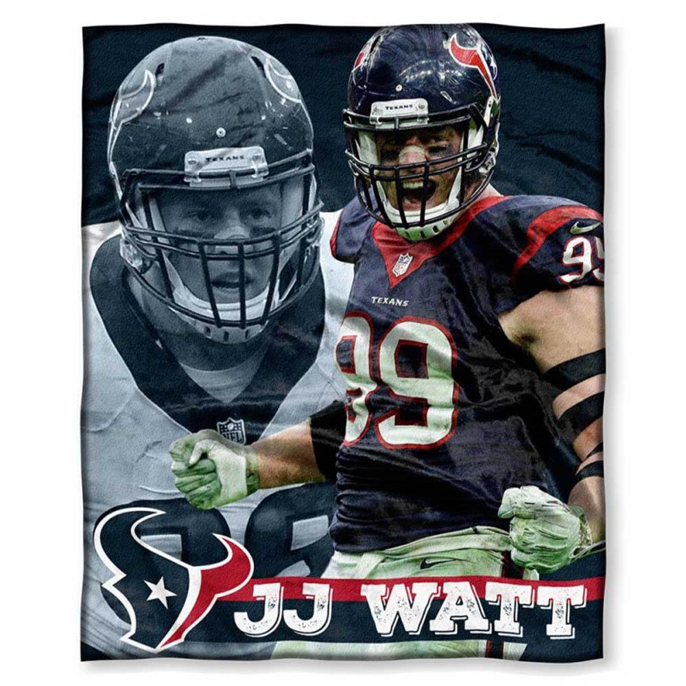 NFL テキサンズ J.J.・ワット プレイヤーズ HD シルクタッチ スロー ブランケット/毛布 ノースウェスト/Northwest