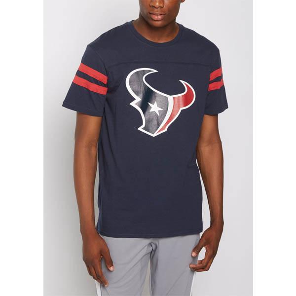 NFL テキサンズ ロゴ ジャージ Tシャツ ネイビー