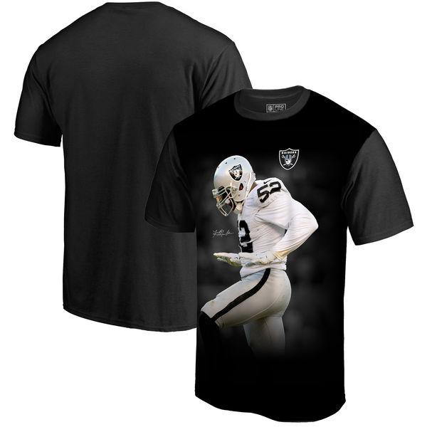 お取り寄せ NFL レイダース カリル・マック プレイヤー サブリメイテッド グラフィック Tシャツ