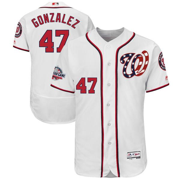 お取り寄せ MLB ナショナルズ ジオ・ゴンザレス 2018 オールスターゲーム オーセンティック ユニフォーム ホームオルタネート