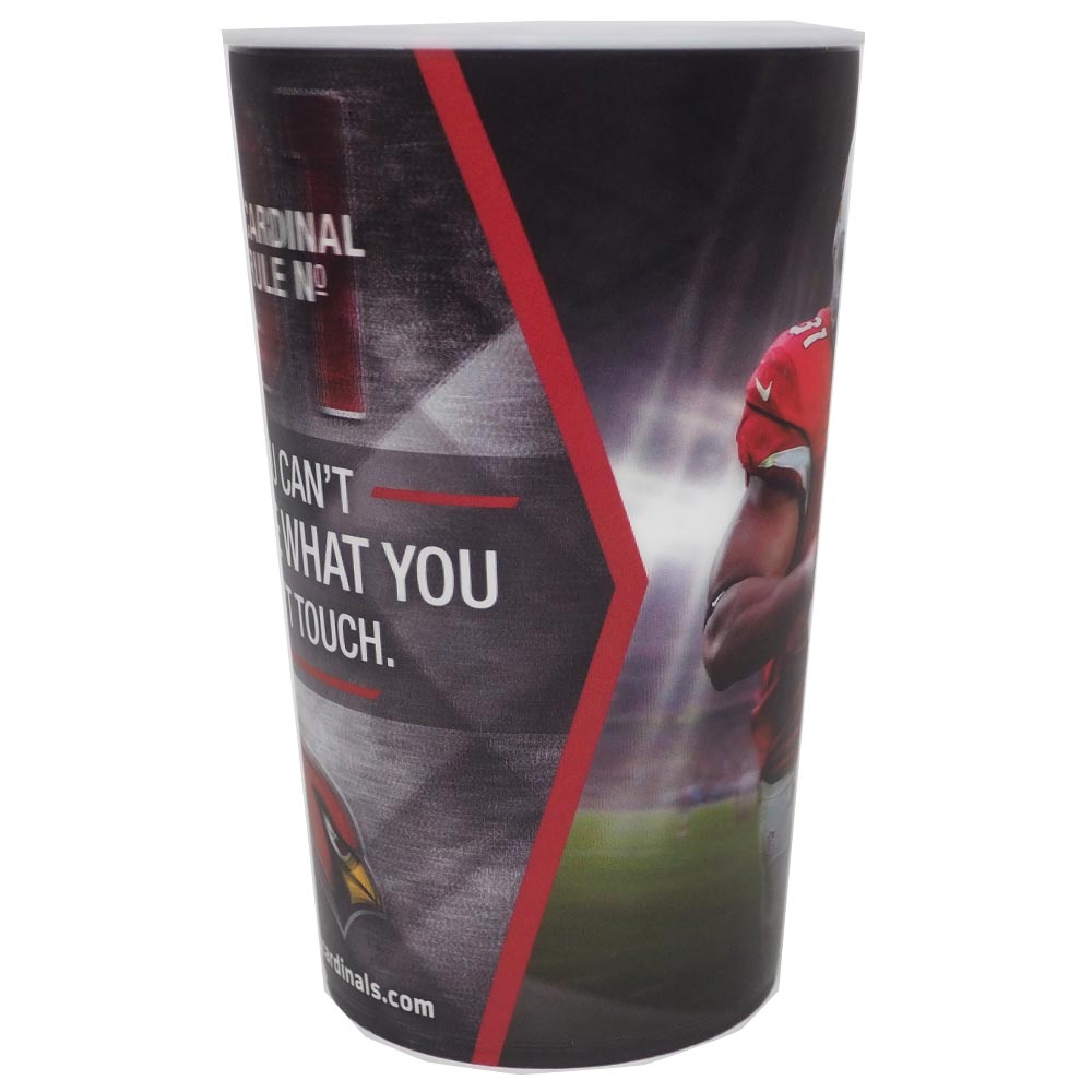 NFL Cardinals David Johnson official stadium 3D cup / glass (9/25/2017 vs. Cowboys MNF)