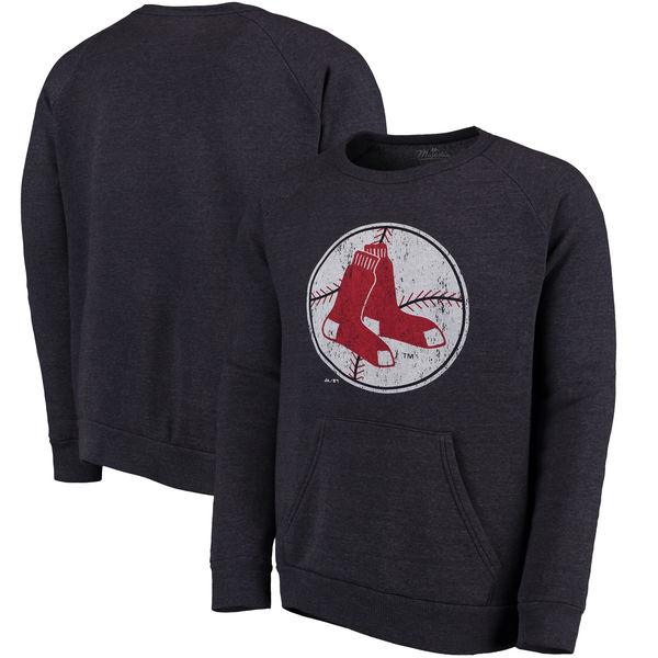 お取り寄せ MLB レッドソックス クーパーズタウン・コレクション ポケット フリース スウェット トレーナー マジェスティック/Majestic ネイビー