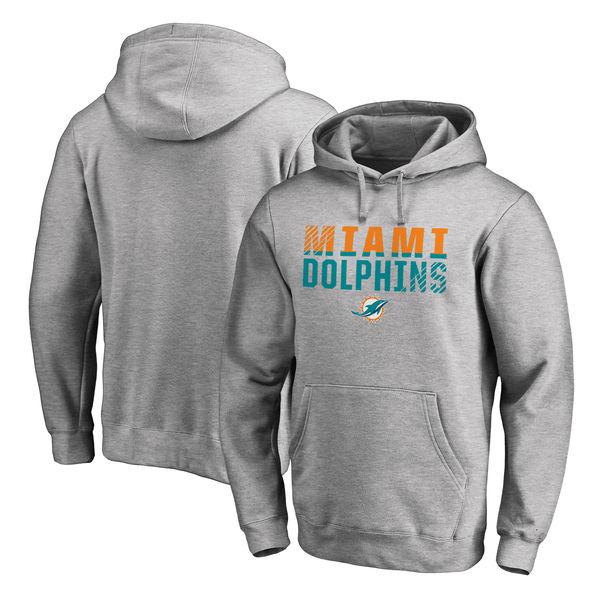 お取り寄せ NFL ドルフィンズ アイコニック コレクション フェードアウト パーカー アッシュ