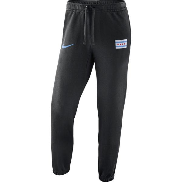 お取り寄せ NBA ブルズ シティ・エディション クラブ パンツ ナイキ/Nike ブラック