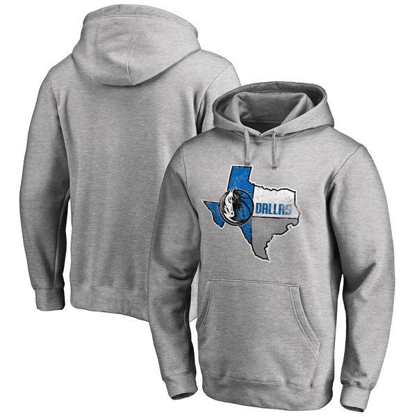 お取り寄せ NBA マーベリックス ホームタウン・コレクション プルオーバー パーカー アッシュ