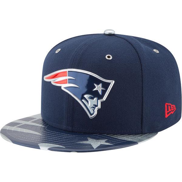 NFL ペイトリオッツ スポットライト 59FIFTY キャップ/帽子 ニューエラ/New Era ネイビー