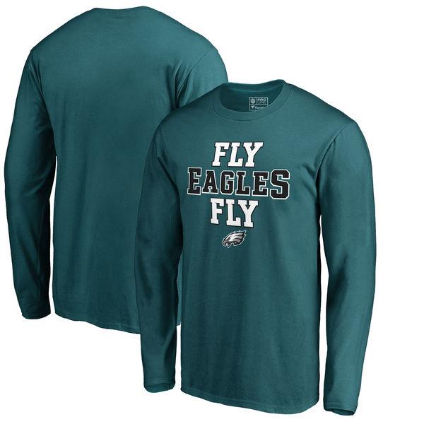 NFL イーグルス ホームタウン・コレクション ロング Tシャツ ミッドナイトグリーン