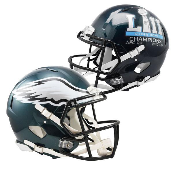 お取り寄せ NFL イーグルス 第52回スーパーボウル優勝記念 Revolution Speed Authentic Football ヘルメット Riddell