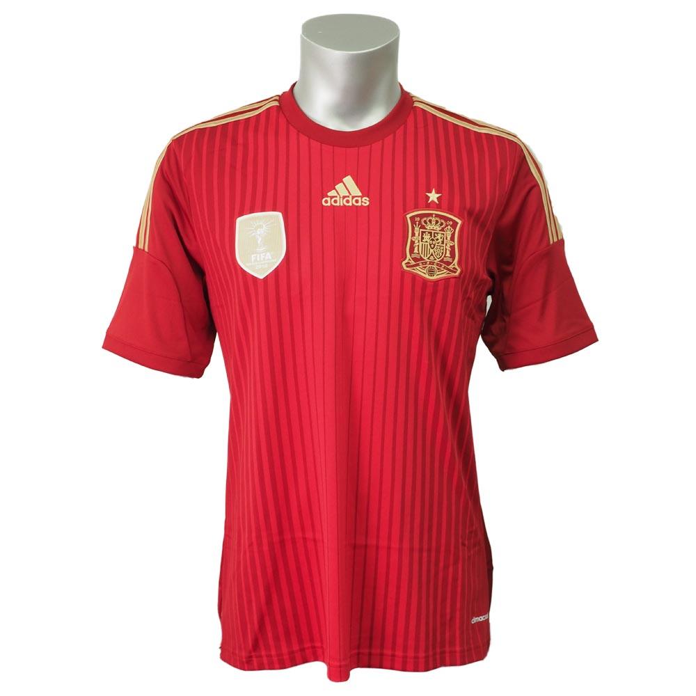 SOCCER/サッカー スペイン 2014 レプリカ ユニフォーム アディダス/Adidas ホーム【1910セール】
