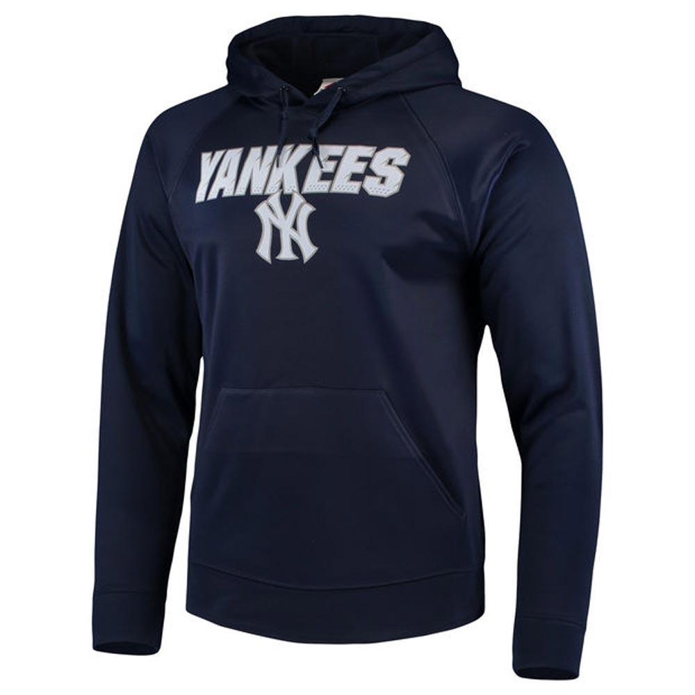MLB ヤンキース シンセティック フリース パーカー/トレーナー マジェスティック/Majestic ネイビー