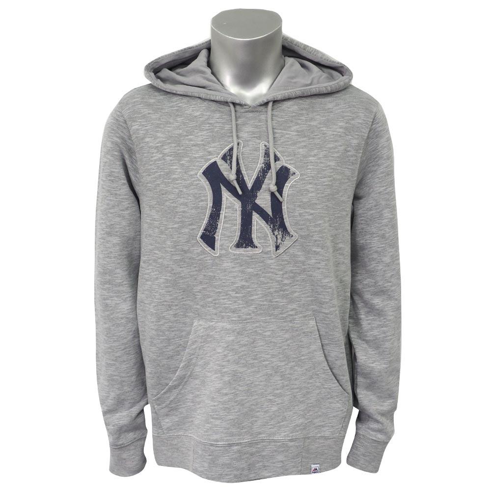 MLB ヤンキース ウィズアウト ディレイ パーカー/フーディー マジェスティック/Majestic グレー