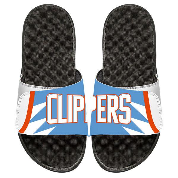 お取り寄せ NBA クリッパーズ シティ エディション スライド サンダル ホワイト