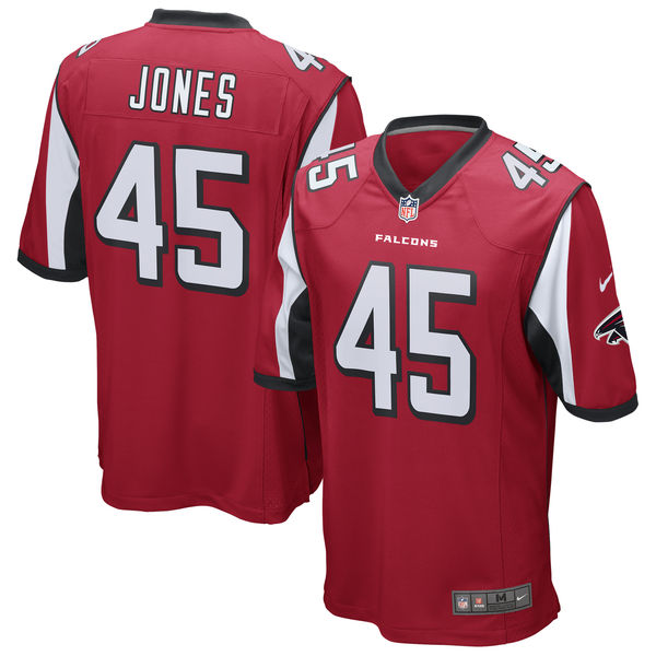 NFL ファルコンズ ディオン・ジョーンズ ゲーム ユニフォーム/ユニホーム レプリカ ナイキ/Nike レッド