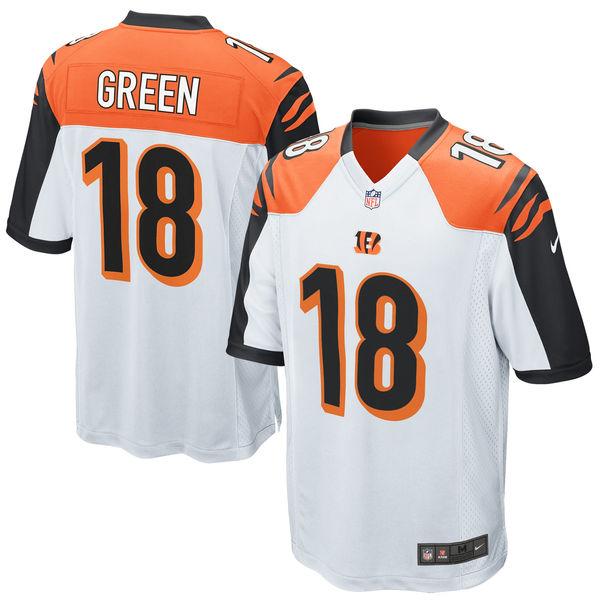 お取り寄せ NFL ベンガルズ A.J.・グリーン ゲーム ユニフォーム/ユニホーム レプリカ ナイキ/Nike ホワイト