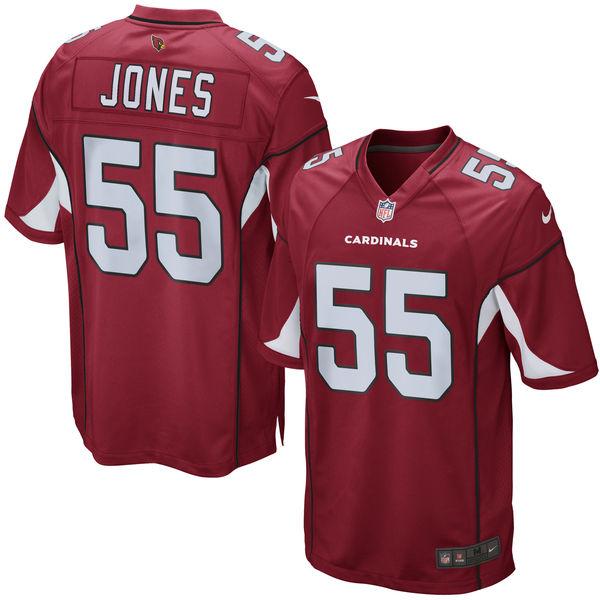 お取り寄せ NFL カーディナルス チャンドラー・ジョーンズ ゲーム ユニフォーム/ユニホーム レプリカ ナイキ/Nike カーディナル