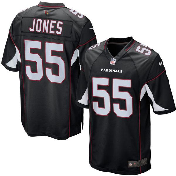 NFL カーディナルス チャンドラー・ジョーンズ ゲーム ユニフォーム/ユニホーム レプリカ ナイキ/Nike ブラック