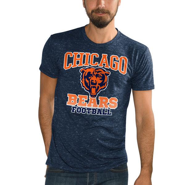 NFL ベアーズ アウトフィールド スペックル Tシャツ ジースリー/G-III ネイビー