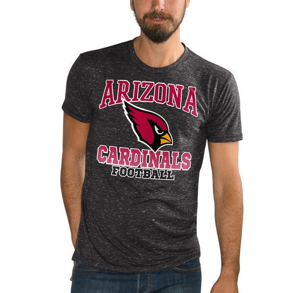 NFL カーディナルス アウトフィールド スペックル Tシャツ ジースリー/G-III ブラック