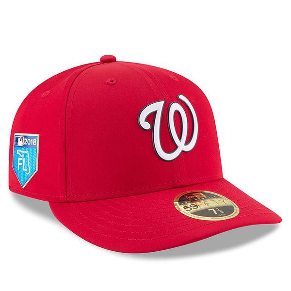 お取り寄せ MLB ナショナルズ トゥルー キャップ ニューデイ キャップ/帽子 ナイキ/Nike ホワイト
