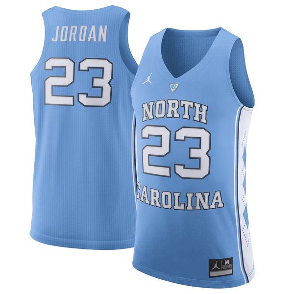 お取り寄せ NCAA ターヒールズ マイケル・ジョーダン ノースカロライナ大学 ターヒールズ 選手着用モデル ユニフォーム/ユニホーム JORDAN ライトブルー