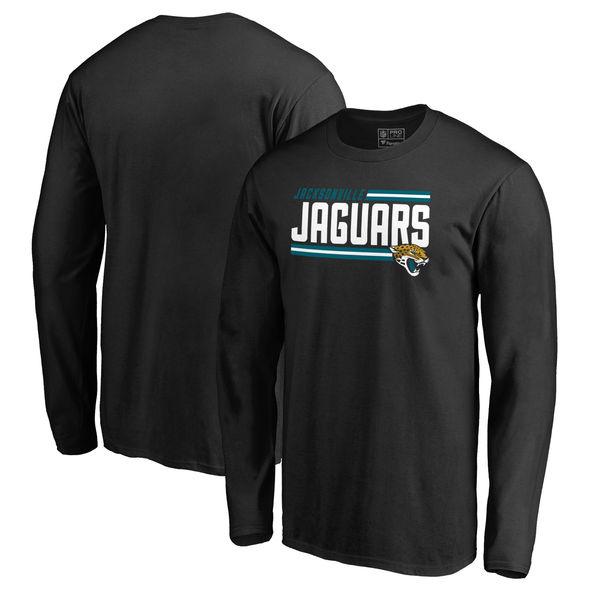 NFL ジャガーズ アイコニック ジャガーズ コレクション ストライプ ロングTシャツ ロングTシャツ ストライプ ブラック, ハル薬店:09bcdb5f --- bpprinters.com