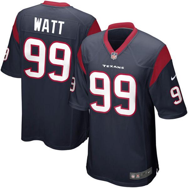 お取り寄せ NFL テキサンズ J.J.・ワット ゲーム ユニフォーム/ユニホーム レプリカ ナイキ/Nike ネイビーブルー