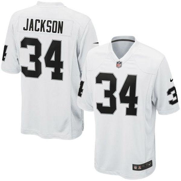 NFL レイダース ボー・ジャクソン リタイアド プレイヤー ゲーム ユニフォーム/ユニホーム ナイキ/Nike ホワイト