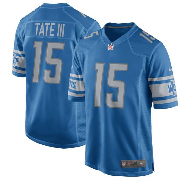 NFL ライオンズ ゴールデン・テイト ゲーム ユニフォーム/ユニホーム レプリカ ナイキ/Nike ブルー