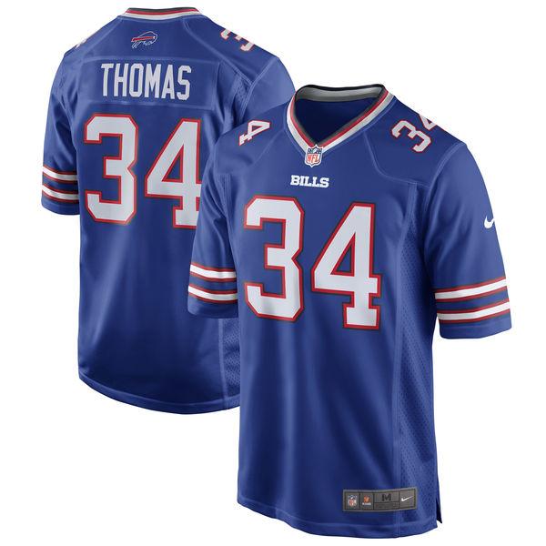 NFL ビルズ サーマン・トーマス リタイアド プレイヤー ゲーム ユニフォーム/ユニホーム ナイキ/Nike ロイヤルブルー