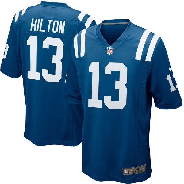 NFL コルツ T. Y・ヒルトン ゲーム ユニフォーム/ユニホーム レプリカ ナイキ/Nike ロイヤルブルー