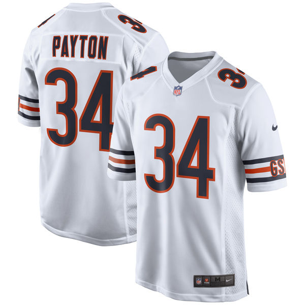 NFL ベアーズ ウォルター・ペイトン リタイアド プレイヤー ゲーム ユニフォーム/ユニホーム ナイキ/Nike ホワイト