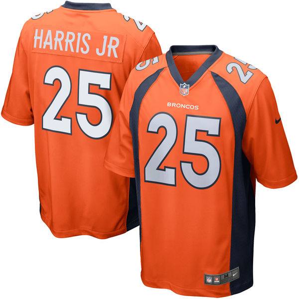 NFL ブロンコス クリス・ハリス・ジュニア ゲーム ユニフォーム/ユニホーム レプリカ ナイキ/Nike オレンジ