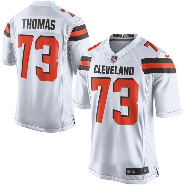 お取り寄せ NFL ブラウンズ ジョー・トーマス ゲーム ユニフォーム/ユニホーム レプリカ ナイキ/Nike ホワイト