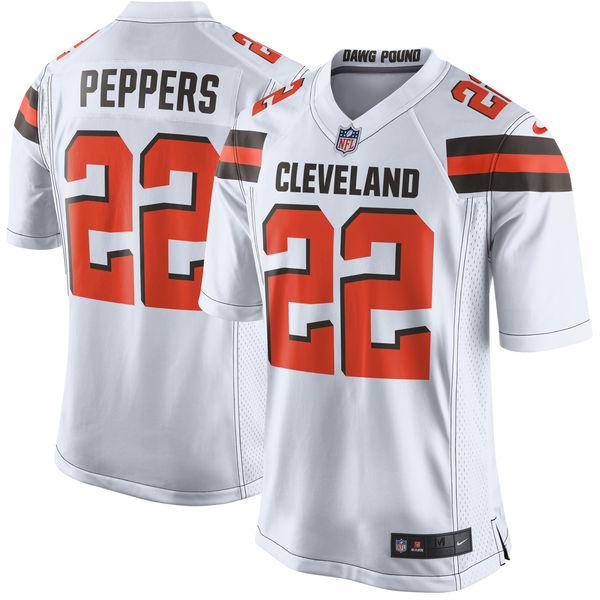 お取り寄せ NFL ブラウンズ ジャブリル・ペッパーズ ゲーム ユニフォーム/ユニホーム レプリカ ナイキ/Nike ホワイト