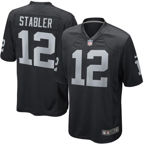 お取り寄せ NFL レイダース ケン・ステイブラー リタイアド プレイヤー ゲーム ユニフォーム/ユニホーム ナイキ/Nike ブラック