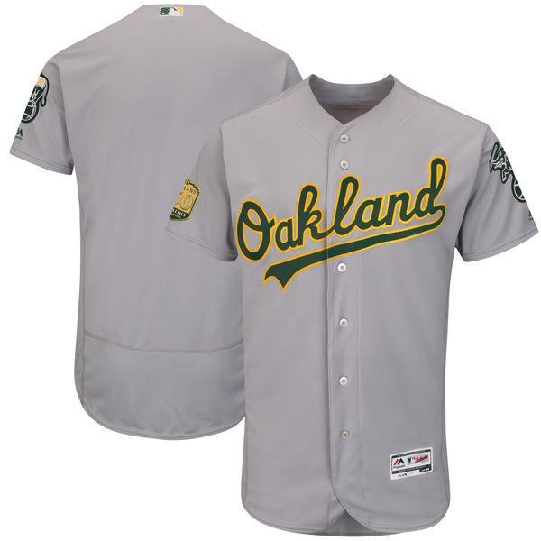 お取り寄せ MLB アスレチックス 50周年記念パッチ付き 選手着用モデル ユニフォーム/ユニホーム マジェスティック/Majestic ロード