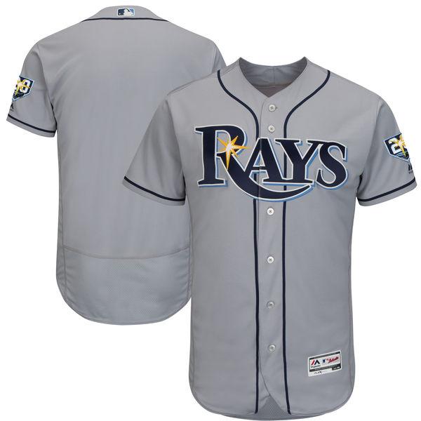 お取り寄せ MLB レイズ 20周年記念パッチ付き 選手着用モデル ユニフォーム/ユニホーム マジェスティック/Majestic ロード