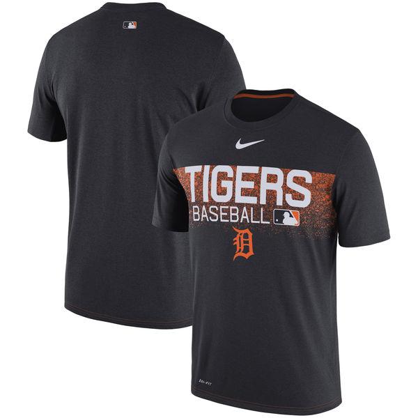 お取り寄せ MLB タイガース 選手着用 オーセンティック レジェンド チーム イシュード パフォーマンス Tシャツ ナイキ/Nike ネイビー