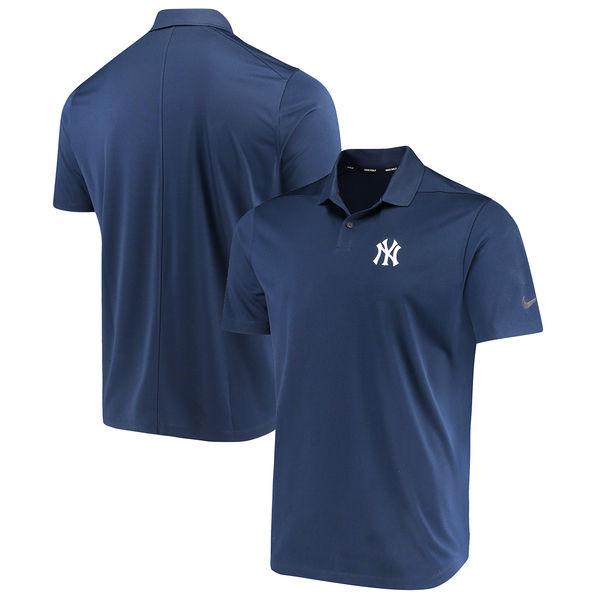 お取り寄せ MLB ヤンキース ソリッド ヴィクトリー パフォーマンス ポロシャツ ナイキ/Nike ネイビー